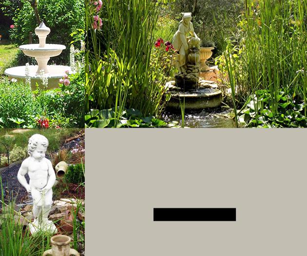 Le bon vivre d coration du jardin quipement de la maison for Fontaine de jardin oslo