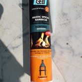 Mastic  colle sp�cial  barbecue /four � pain