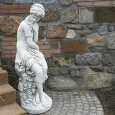 Statue en pierre d coration du jardin le bon vivre for Statut de jardin pas cher