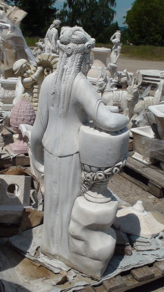 statue femme grecque le bon vivre. Black Bedroom Furniture Sets. Home Design Ideas