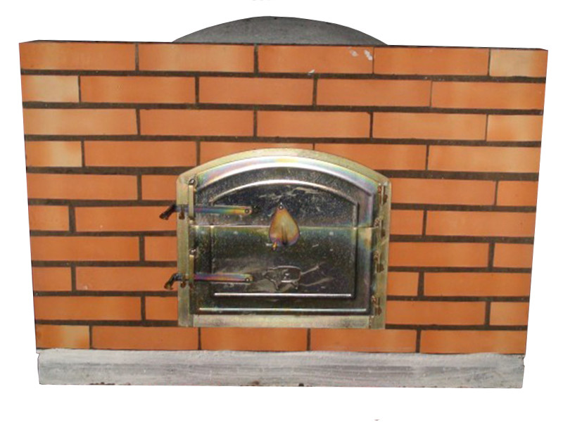 four pain et pizza avec porte sur fa ade en briques 130 cm le bon vivre. Black Bedroom Furniture Sets. Home Design Ideas