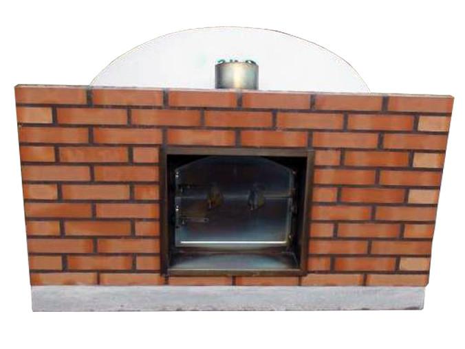 four pain et pizza fa ade en briques et avaloir de. Black Bedroom Furniture Sets. Home Design Ideas