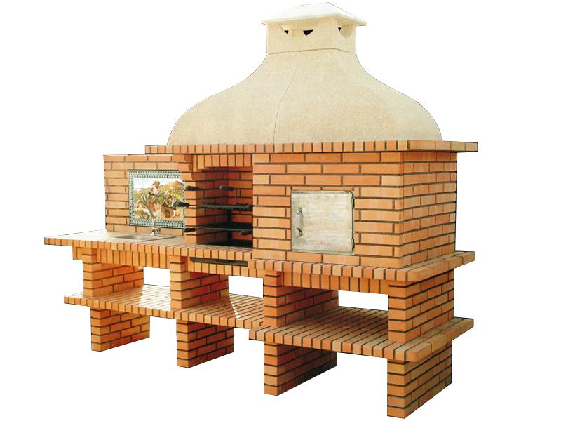 barbecue et four pain avec plan de travail gauche le bon vivre. Black Bedroom Furniture Sets. Home Design Ideas
