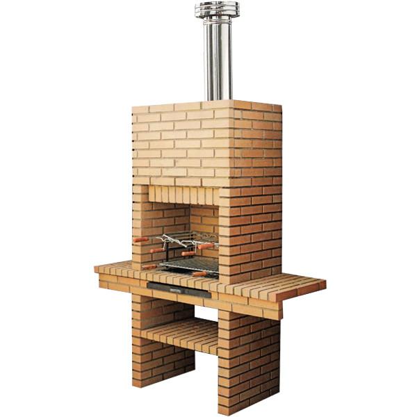 Barbecue en brique ch211 le bon vivre for Fabriquer un barbecue en brique refractaire
