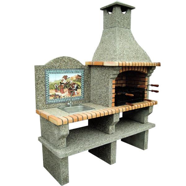 barbecue en brique ch301a le bon vivre. Black Bedroom Furniture Sets. Home Design Ideas