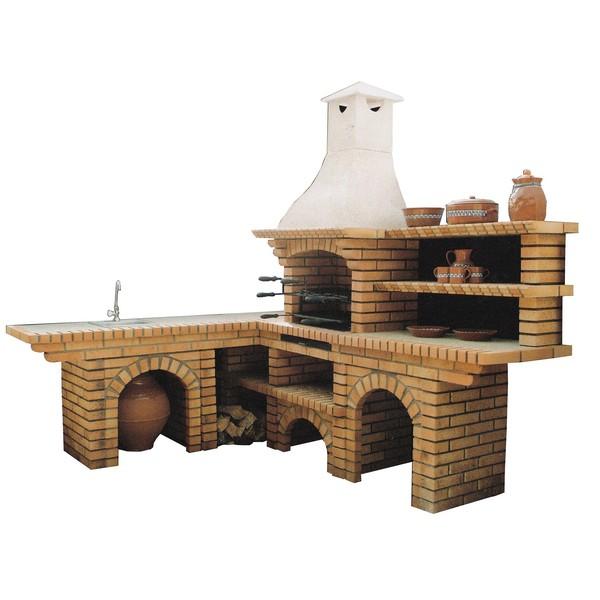 barbecue en brique ch702 le bon vivre. Black Bedroom Furniture Sets. Home Design Ideas
