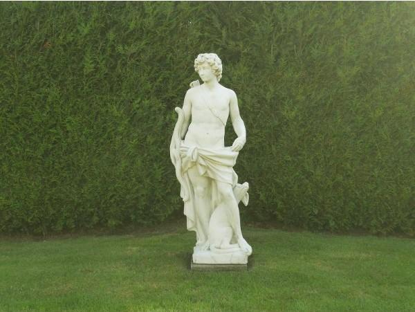 statue de jardin en pierre dieu apollon le bon vivre. Black Bedroom Furniture Sets. Home Design Ideas