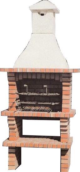 barbecue en brique mod le ch102 le bon vivre. Black Bedroom Furniture Sets. Home Design Ideas