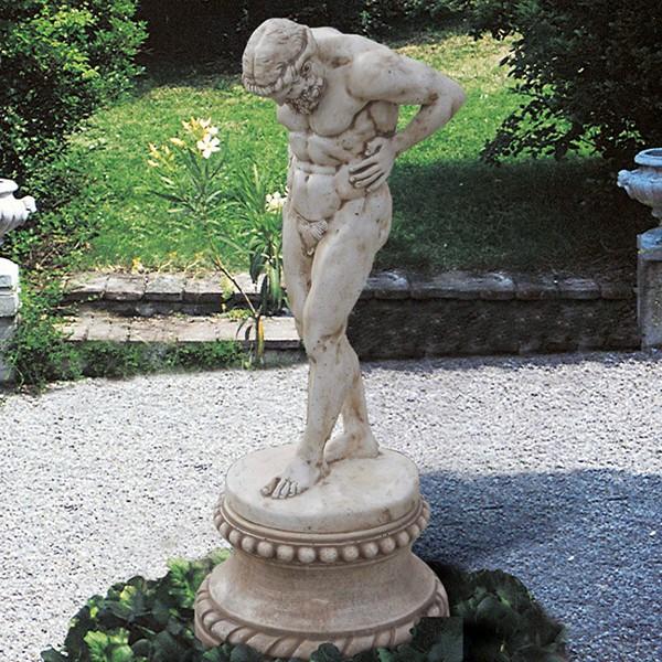 Statue En Pierre Atlas Le Bon Vivre