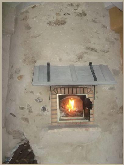 four pain et pizza avec porte avaloir de fum e 90 cm. Black Bedroom Furniture Sets. Home Design Ideas