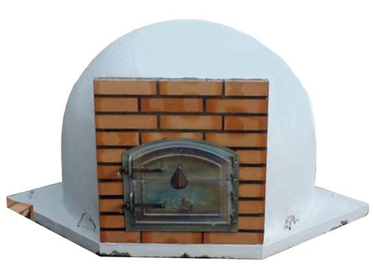 four pain et pizza d 39 angle sans chemin e avec fa ade en briques le bon vivre. Black Bedroom Furniture Sets. Home Design Ideas