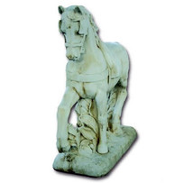 Statue Cheval de Trait